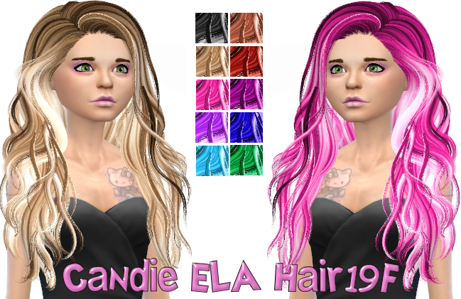 Candie ELA Hair19F in 10 colors 900 Followers Gift!!!