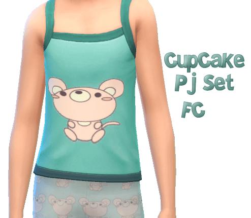 Cup Cake Pj Set CF