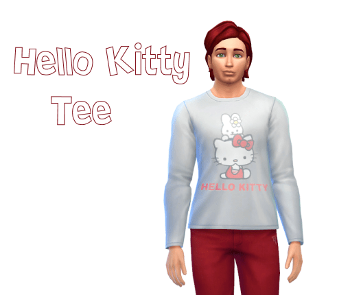 Hello Kitty Shirt for Men