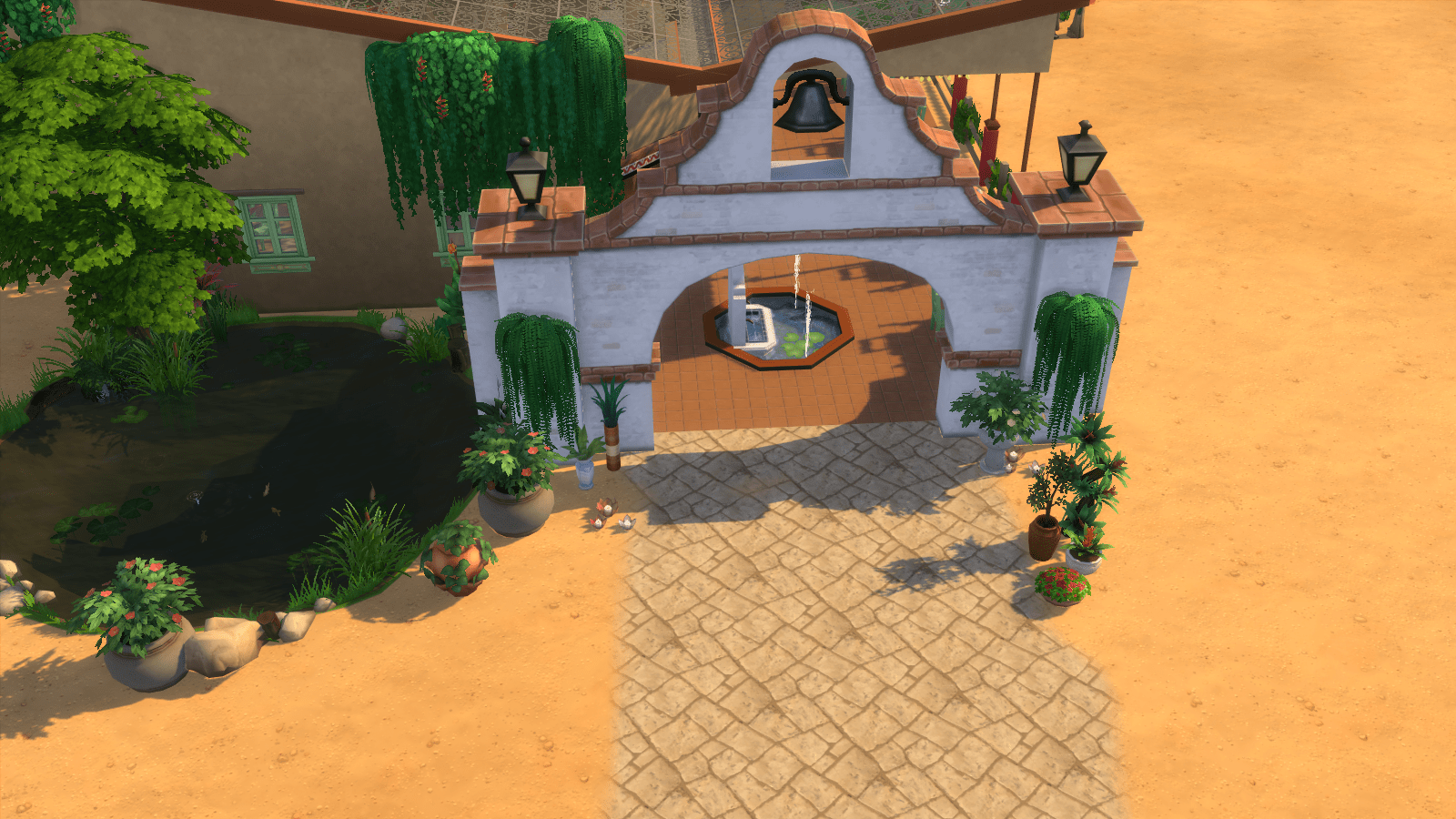 El Tapatio  Restaurant Sims 4