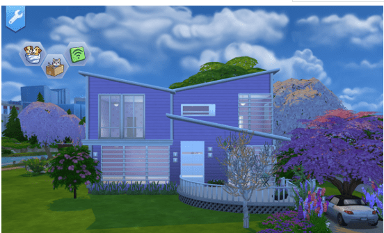 Lilac You A Lot House for Sims 4 Realistic Realty
