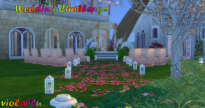 Wedding Destination Challenge for Sims 4