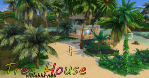 Tree House Hideaway for Sims 4