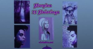 Purple Art for Sims 4