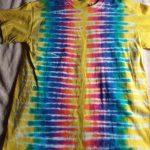 Medium Yellow Tie Dye