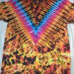 Medium Fire Tie Dye