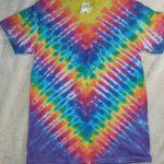 Small Rainbow Tie Dye