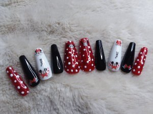 Mickey Mouse Press on Nails