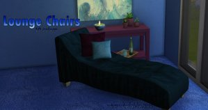 Lounger for Sims 4