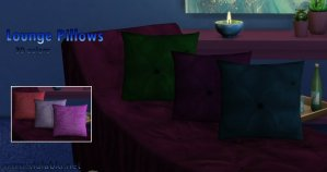 Lounge Pillow Set for Sims 4
