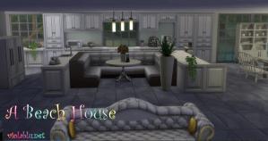 A Beach House for Sims 4