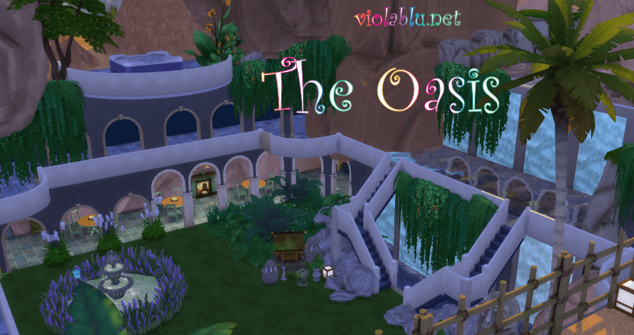 The Oasis a Resort for Sims 4