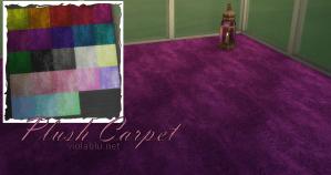 Pretty Plush Carpets for Sims 4