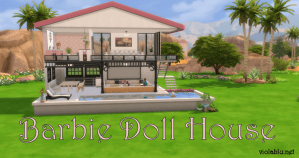 Barbie Doll House for Sims 4