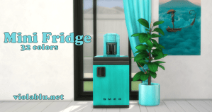 Viola's Mini Fridge for Sims 4