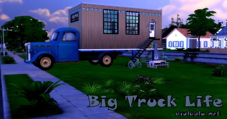 Big Truck Life for Sims 4
