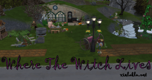 Where The Witch Lives for sims 4
