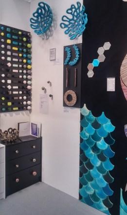 Viola Ceramics Studio stand during 100 % Design '18