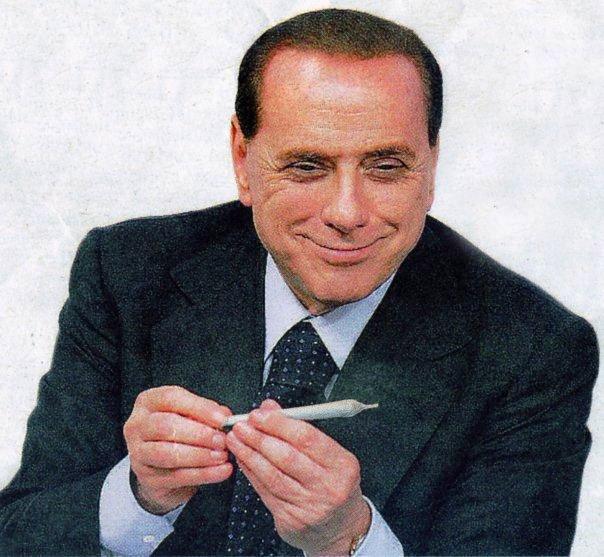 Berlusconi parla una cubista a Villa Certosa pi