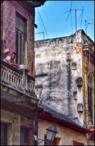 "Carlos Byron, ""Balcony Havana,"" photography, 5 3/4"" x 9"", Winter 2017"