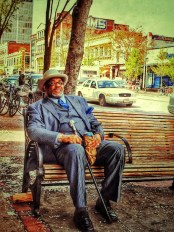 """Carlos Byron, """"Mr. Magnificent,"""" photography, 7 1/2"""" x 10 1/4"""", Spring 2014"""