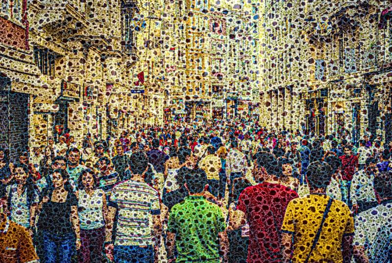 "Walter Crump, ""Promenade, Istanbul,"" Archival inkjet print, 2021"