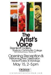 2011 Exhibition Poster, Roxbury Community College