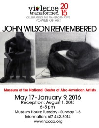 2015 Exhibition Poster, Museum of the National Center of Afro-American Artists