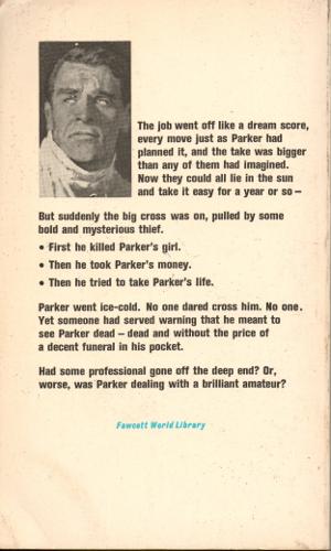 Fawcett-Gold Medal (1968) back
