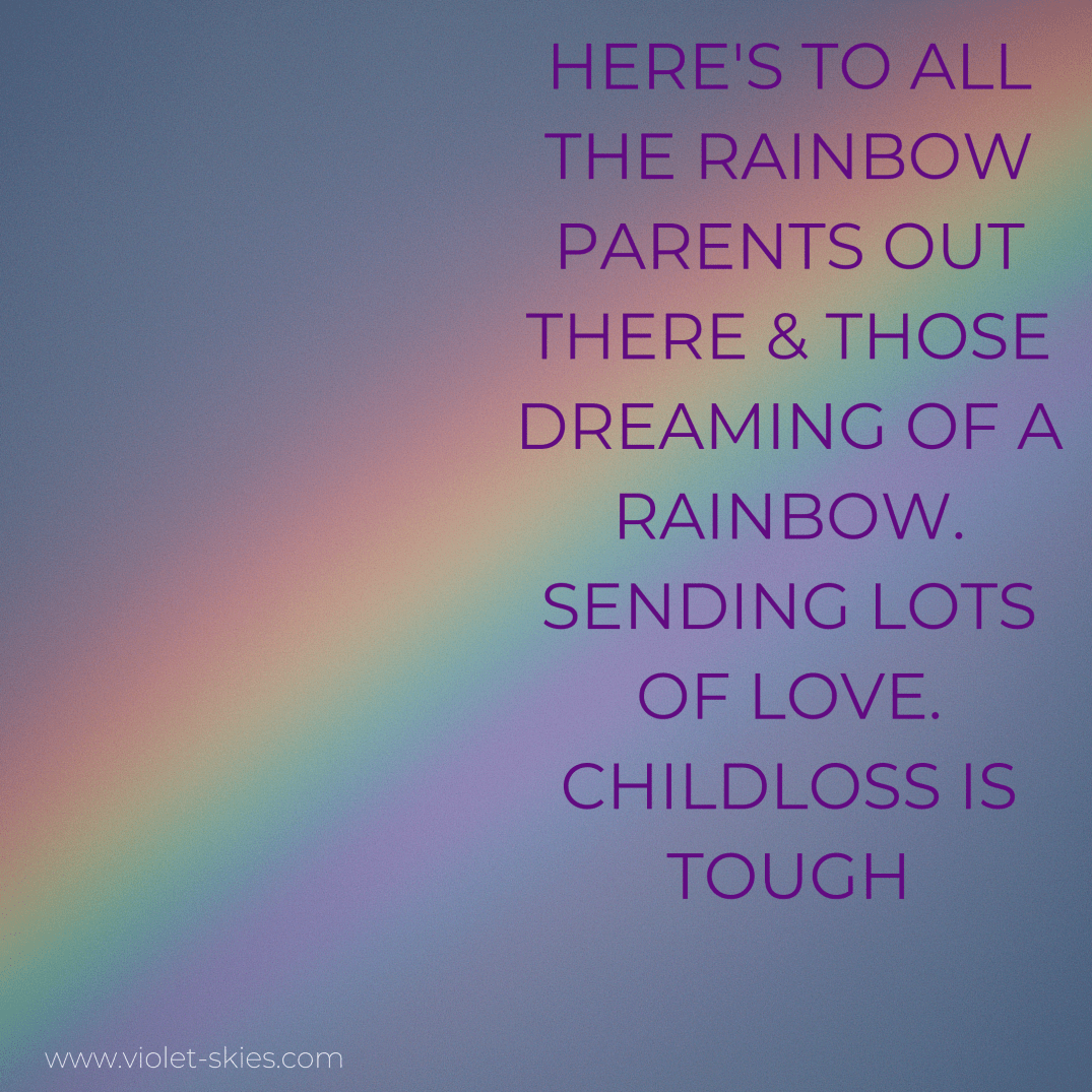 Here's to all those Rainbow parents