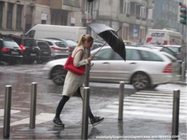 Pioggia in città © violeta dyli 2014 copyright