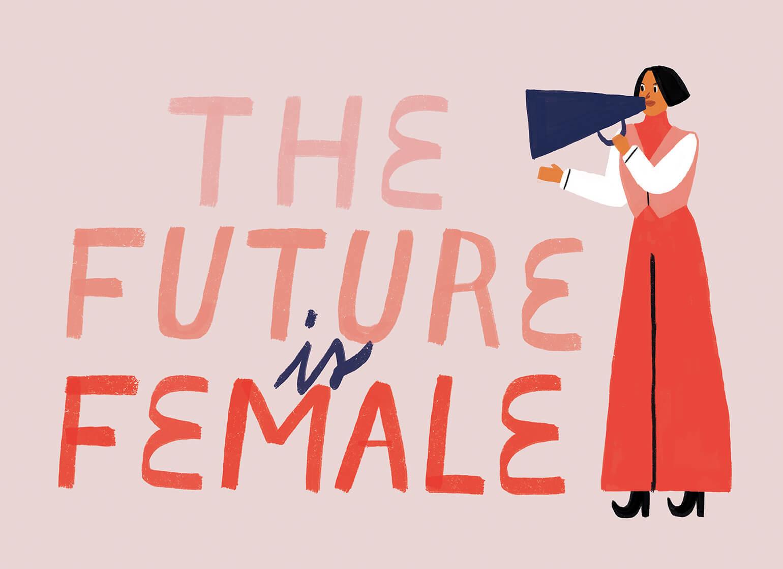 Description: the-future-is-female-violeta-noy