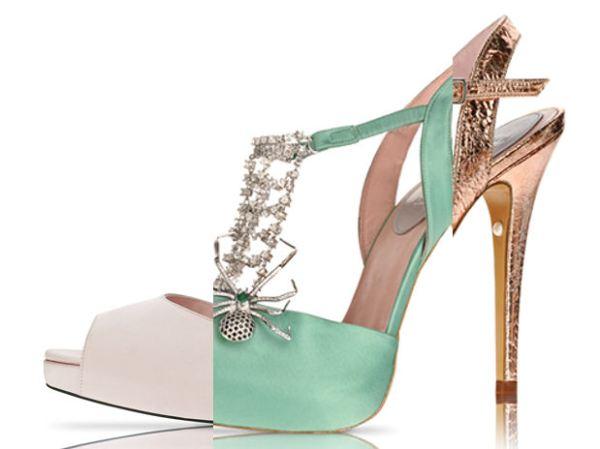 Haute Couture Shoes Patricia Rosales Violeta Purple