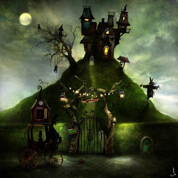 Whimsical Art of Alexander Jansson