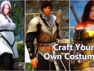BDO Costumes you can craft - Jordines Casual, Jarettes Armor