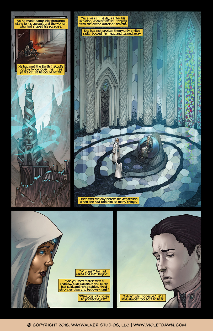 Violet Dawn: Exile – Issue 1, Page 7