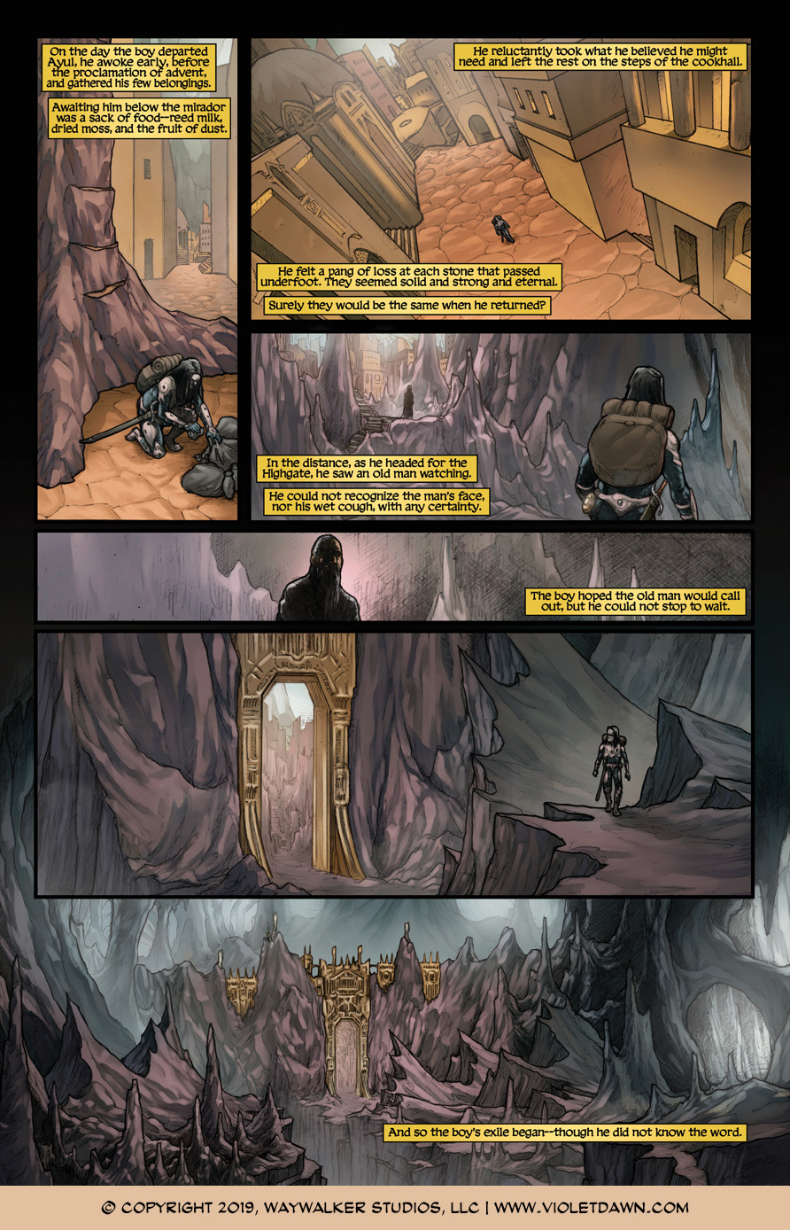 Violet Dawn: Exile – Issue 4, Page 10