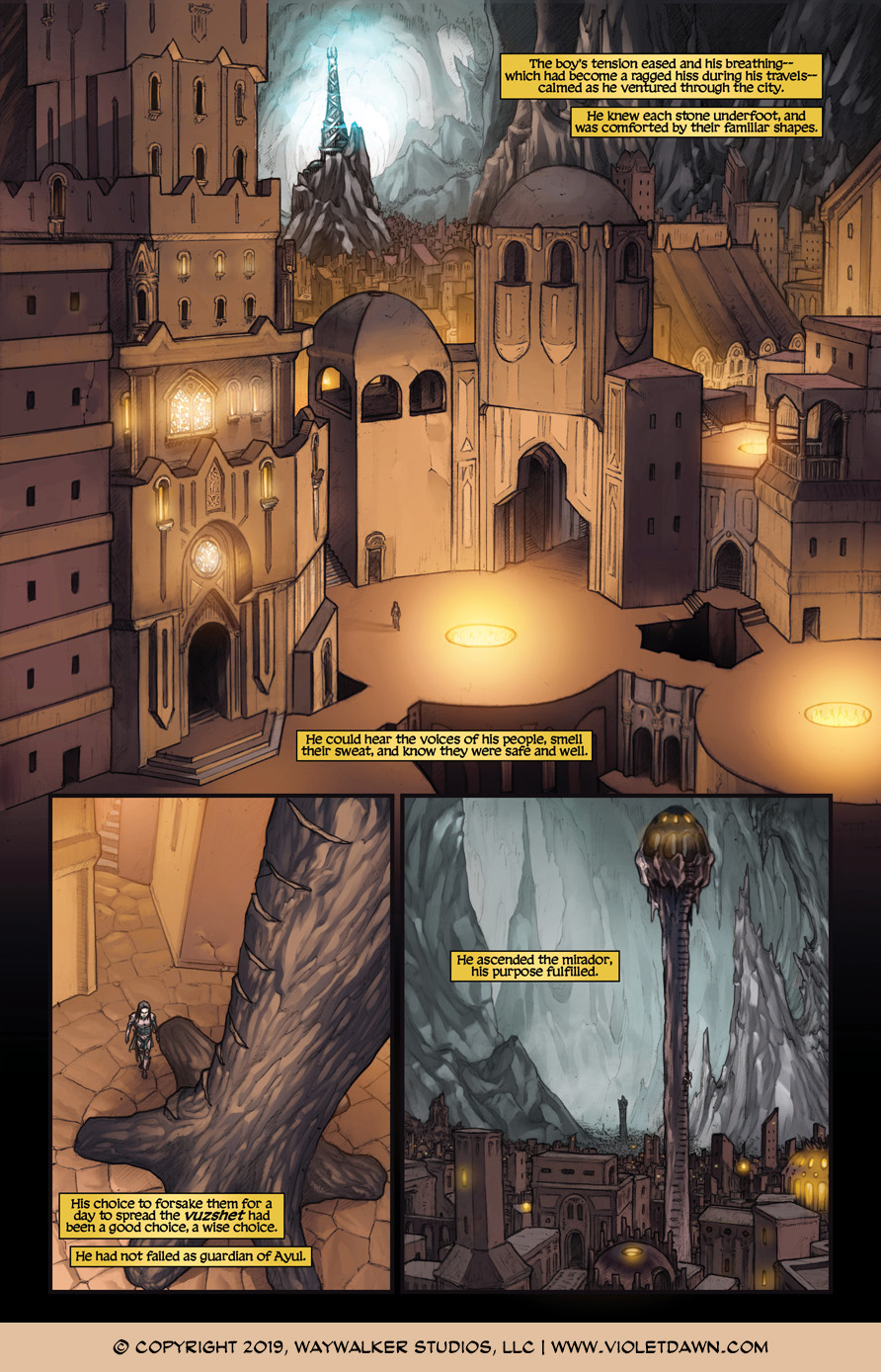 Violet Dawn: Exile – Issue 4, Page 2