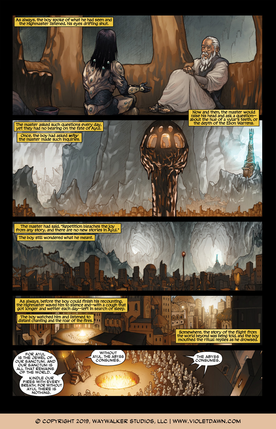 Violet Dawn: Exile – Issue 4, Page 5