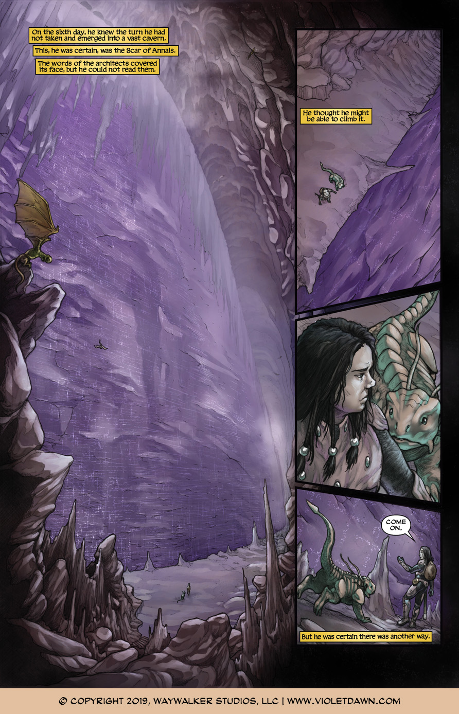 Violet Dawn: Exile – Issue 5, Page 5
