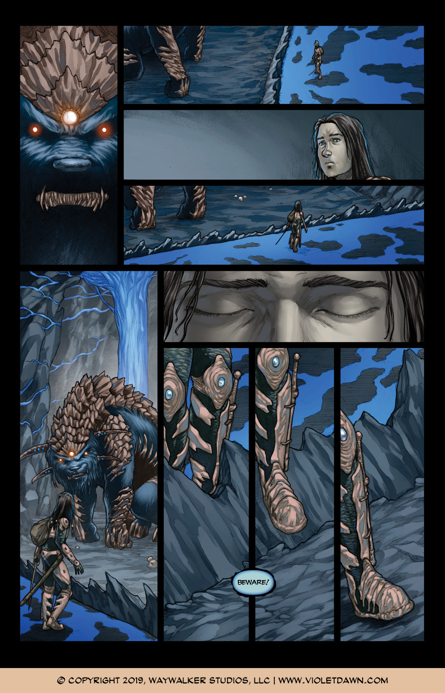 Violet Dawn: Exile – Issue 6, Page 3
