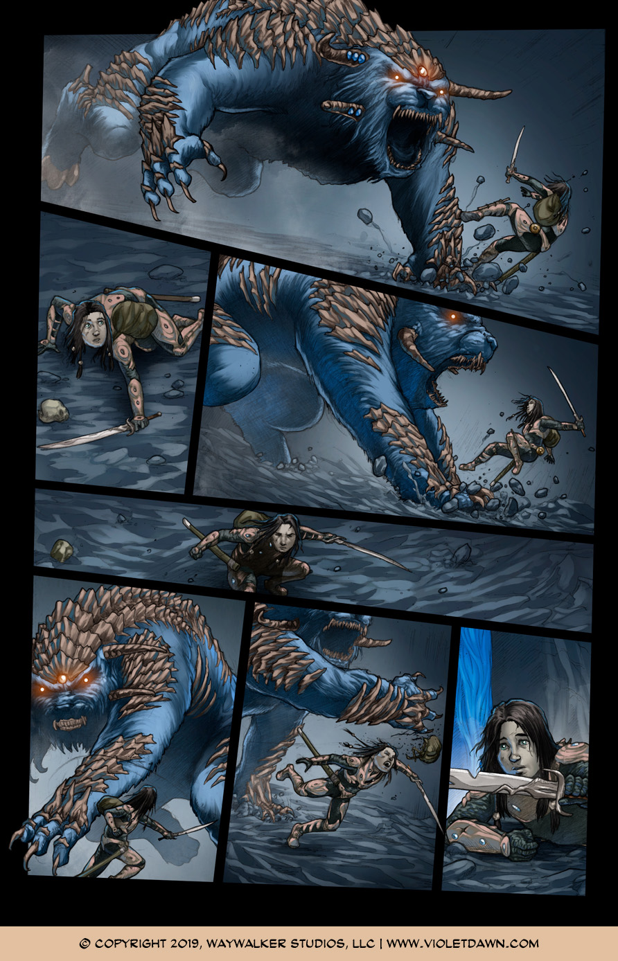 Violet Dawn: Exile – Issue 6, Page 4