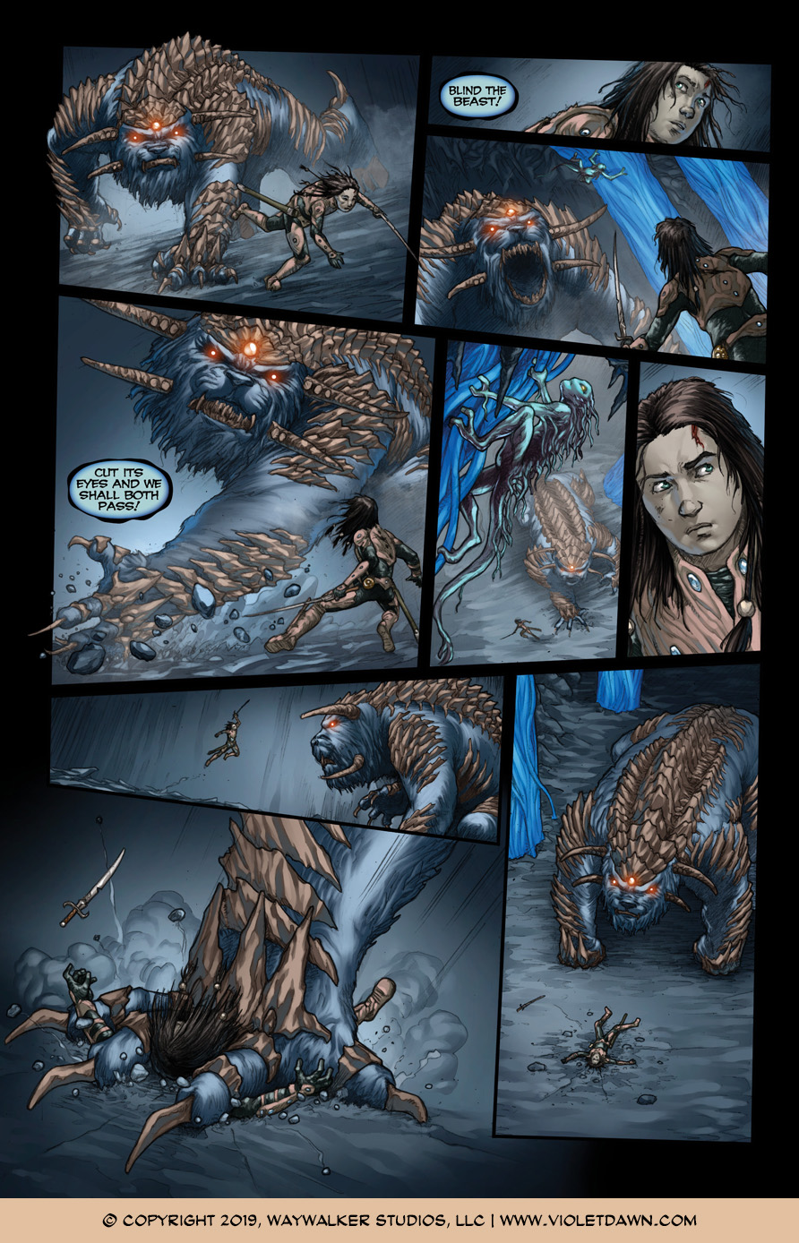 Violet Dawn: Exile – Issue 6, Page 5