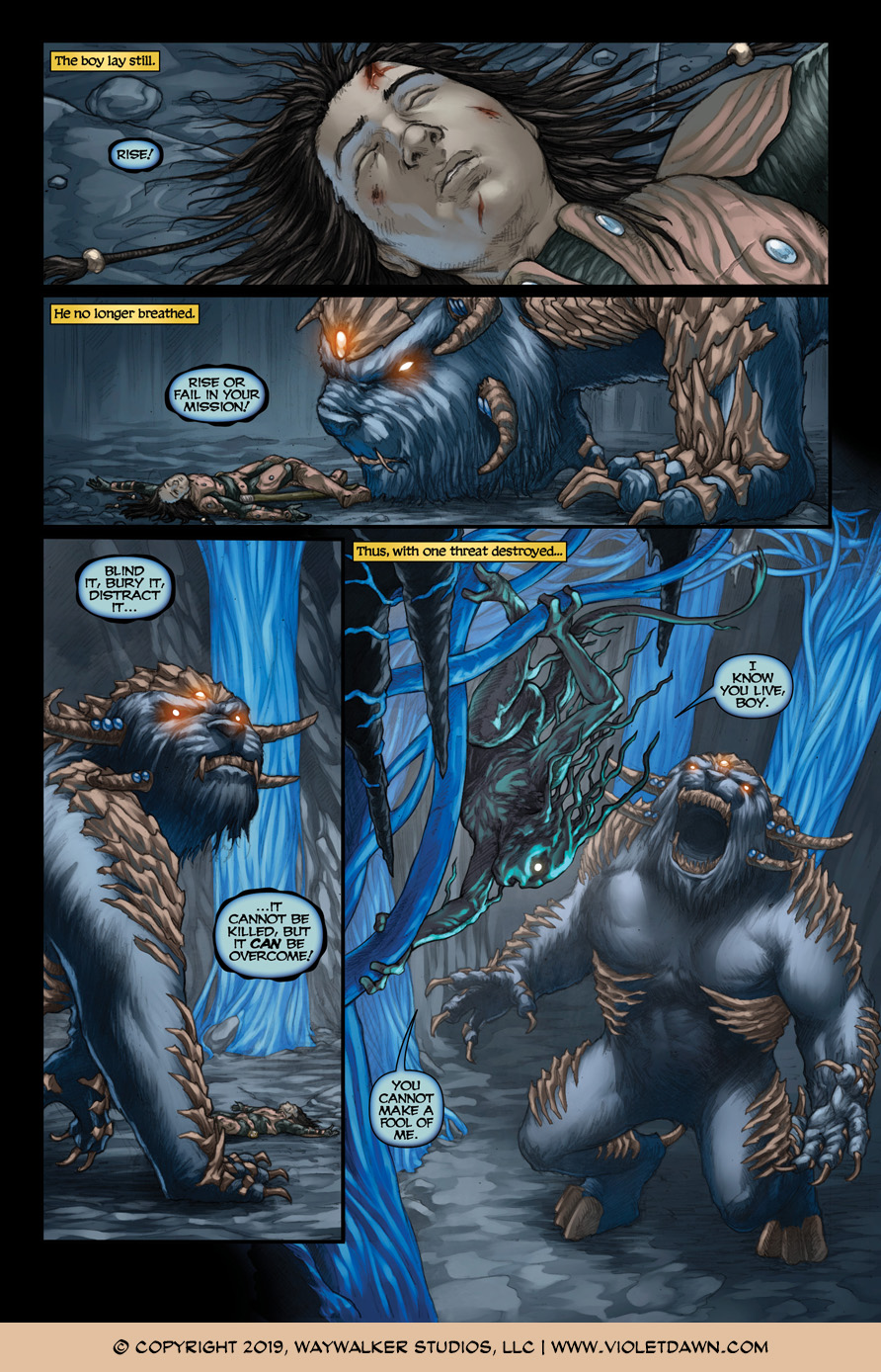 Violet Dawn: Exile – Issue 6, Page 6