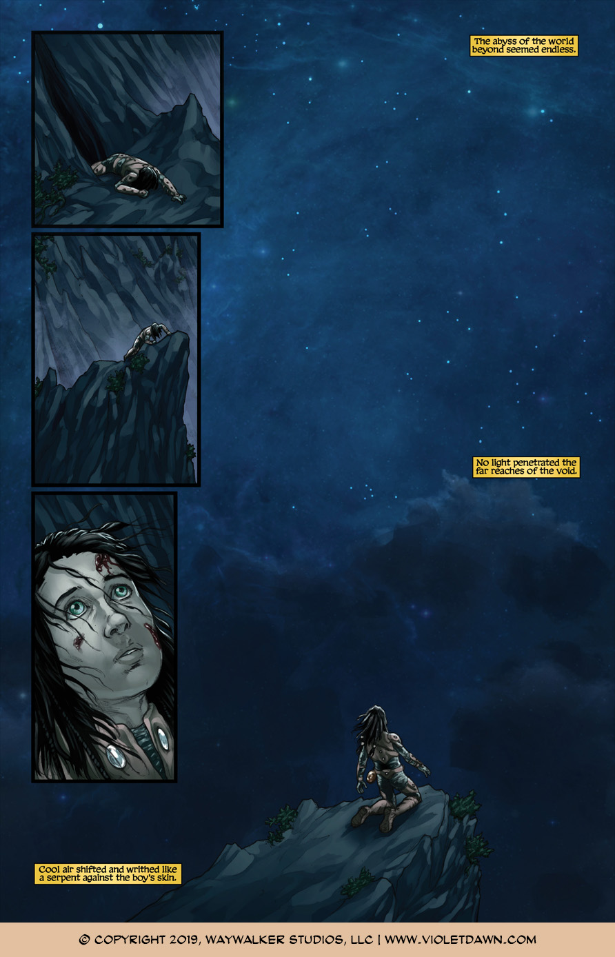 Violet Dawn: Exile – Issue 7, Page 3