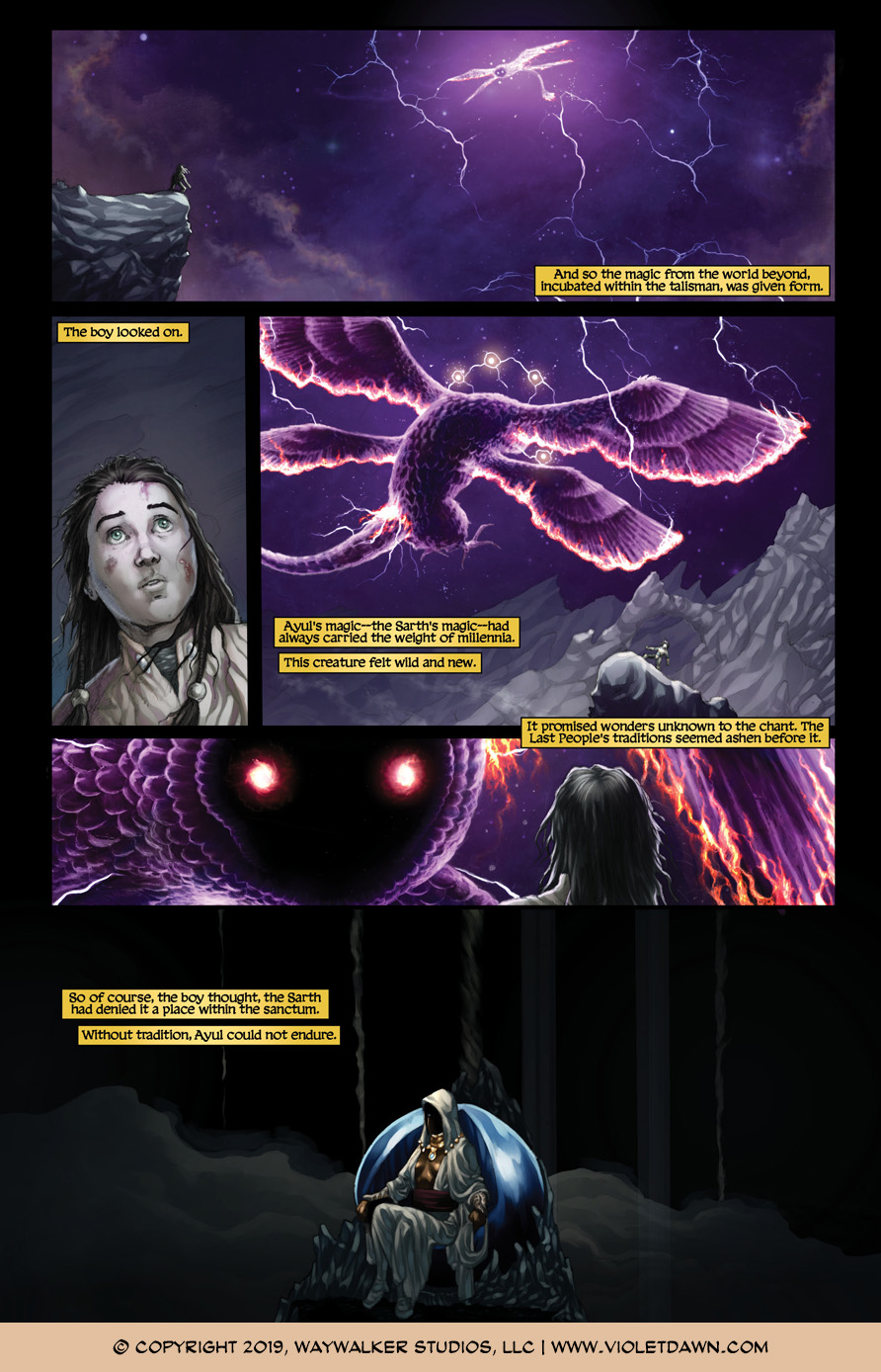 Violet Dawn: Exile – Issue 7, Page 8