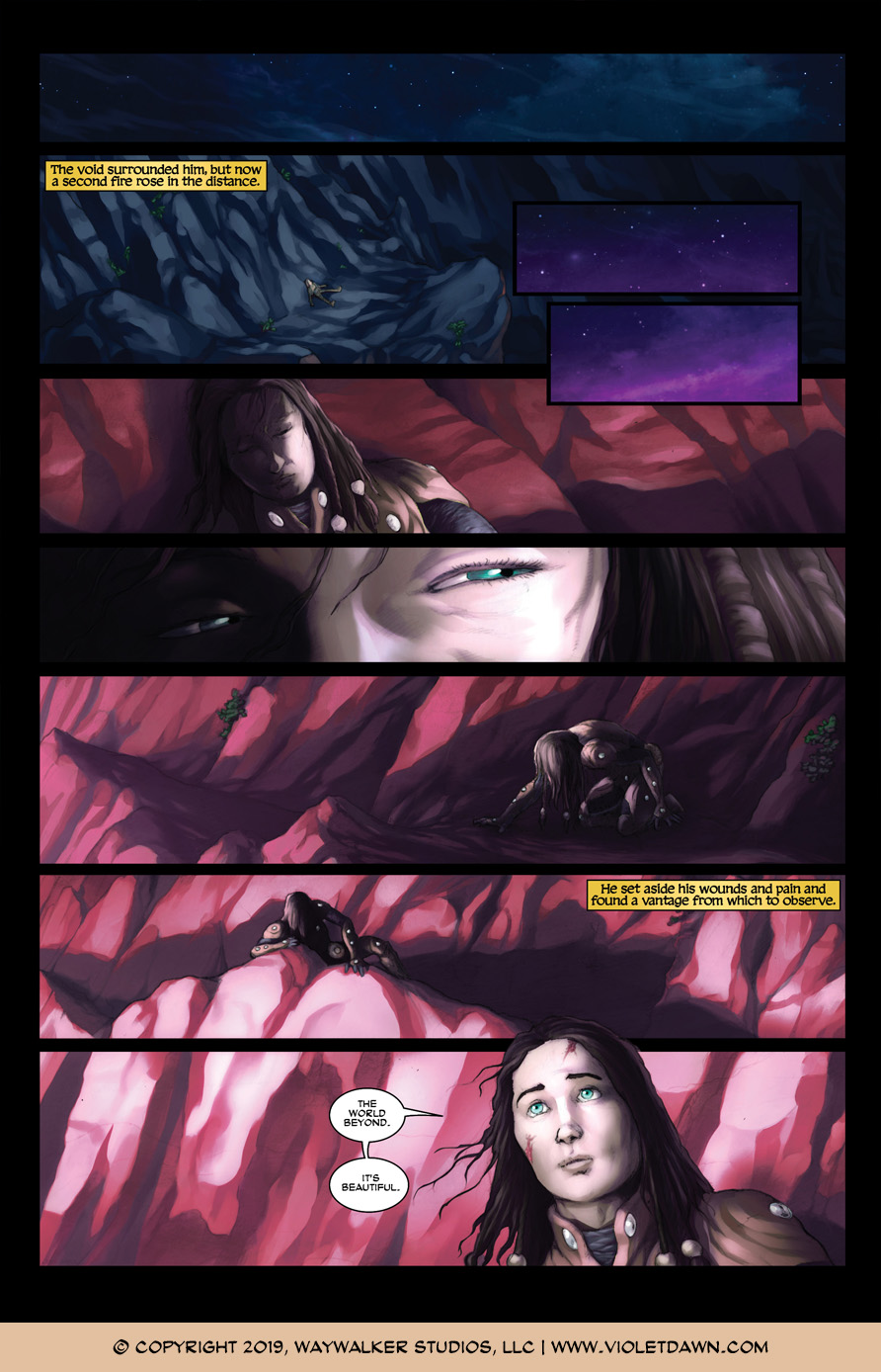 Violet Dawn: Exile – Issue 7, Page 11