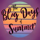 logo for The Blog Days of Summer, and erotic writing prompt for August