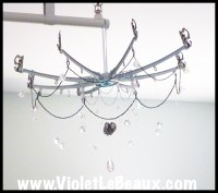 How To Make Your Own Chandelier | Violet LeBeaux - Tales ...