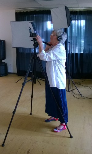 "Prof. Kleing filmed the movie ""Qigong in Cancer Care""."
